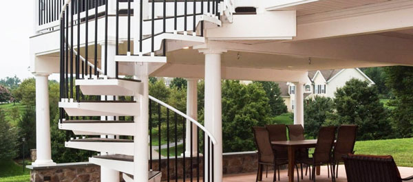 outdoor deck stairs