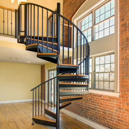 Our Spiral Staircase Products Materials Paragon Stairs