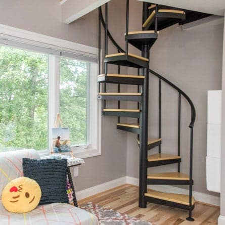 contemporary-open-frame-steel-spiral-stair