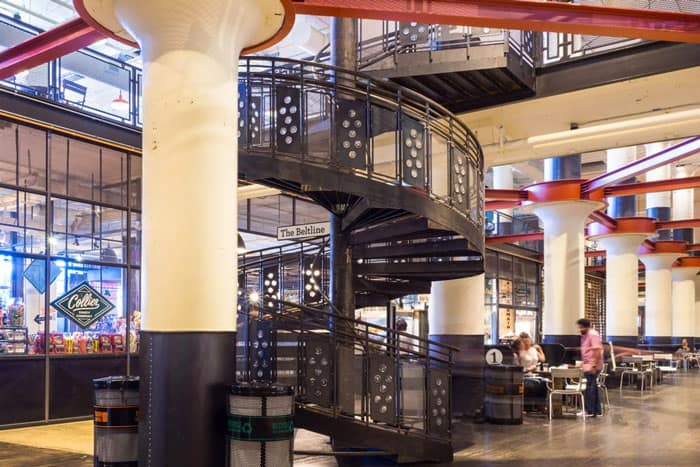 atlanta ponce city spiral stair