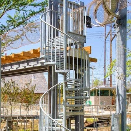 Philadelphia Zoo Spiral Staircase