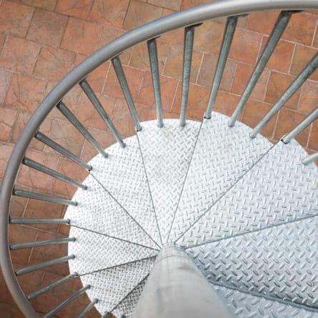 galvanized-spiral-stairs