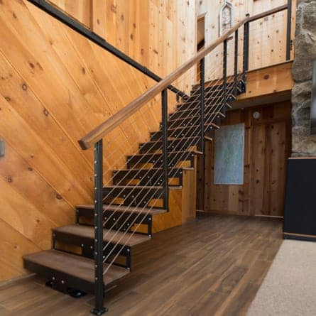 rustic-staircases