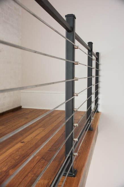 stainless steel line rail loft