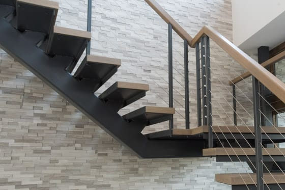straight staircase stringers custom cut and diy options