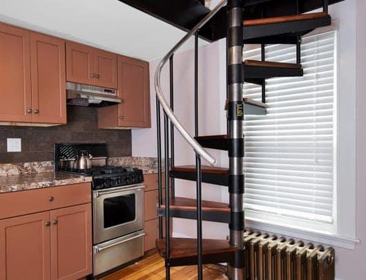 easy installation diy spiral stair kit