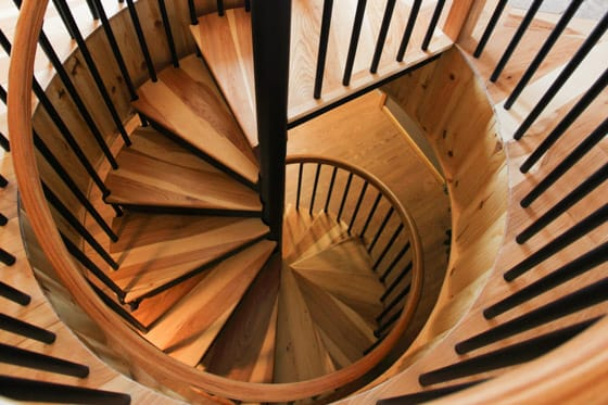 rotation-spiral-stair