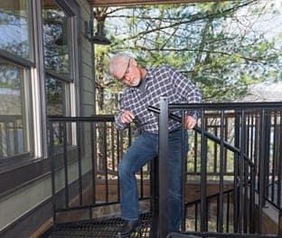 diy easy installation spiral staircase
