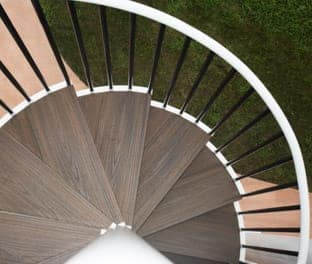 durable wood species for outdoor stairs