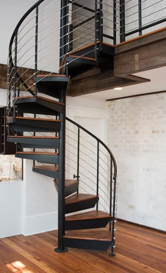 Charmant Space Saving Spiral Staircases