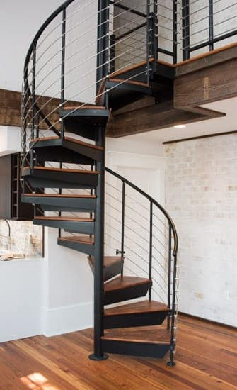 interior spiral staircases