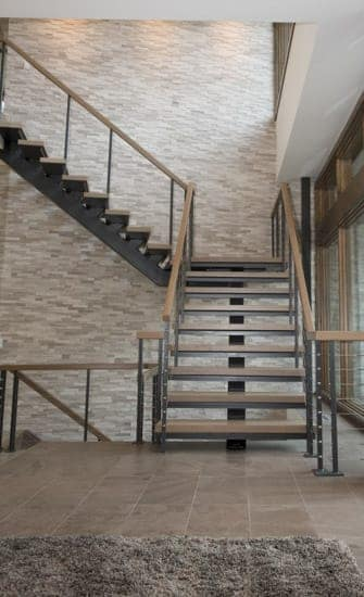 Floating Steel Staircases