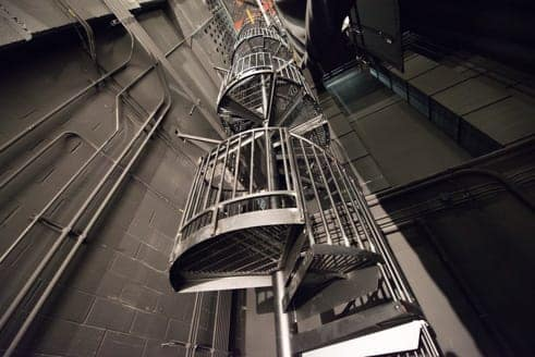 industrial spiral stairs utility