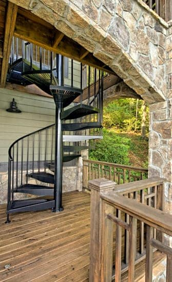 Custom Outdoor Stairs