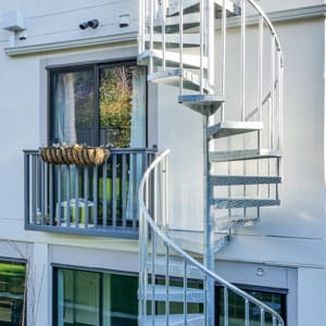 all metal spiral staircase designs