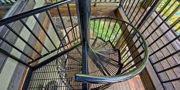 Platform Spiral Staircase