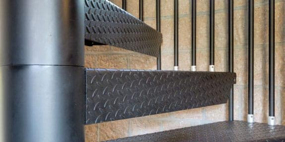 IBC Spiral Staircase | Residential & Commercial Code Stairs