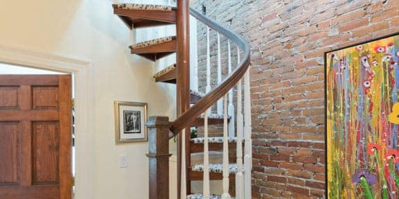 Attic Spiral Staircase Superior And Safer Accessibility