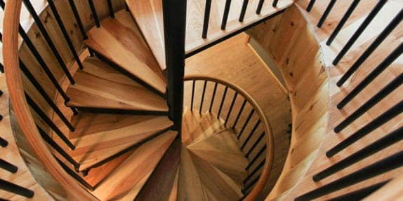 basement-spiral-stairs