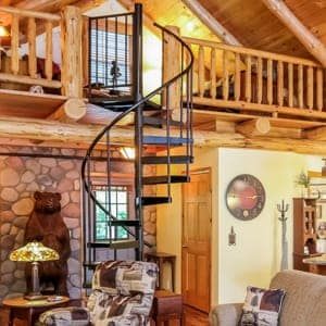do it yourself spiral staircase