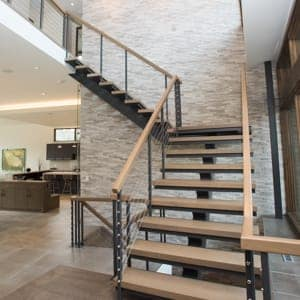 interior stairs straight spiral designs for your style space rh paragonstairs com