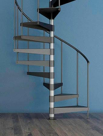 budget friendly economy spiral stair