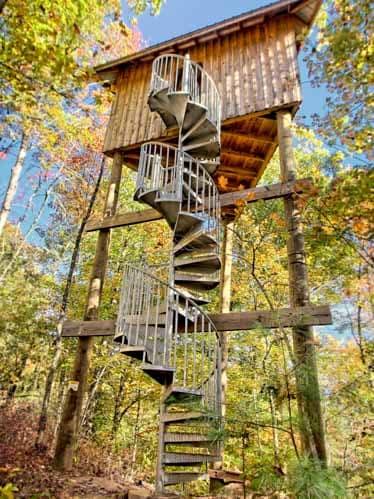galvanized-spiral-staircase