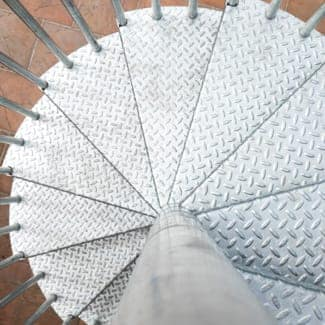 steel spiral staircase durable