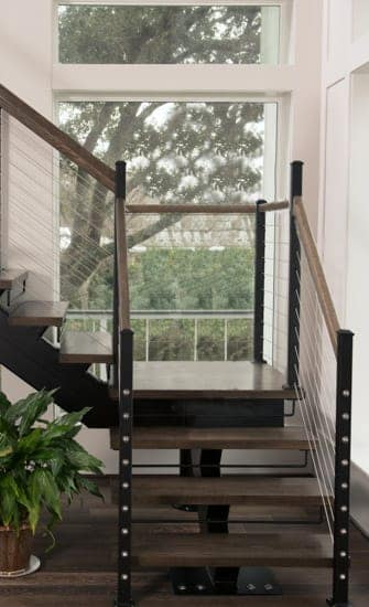 Mono Stringer Floating Stairs
