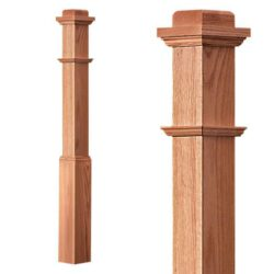 Box Newel with Sleeve