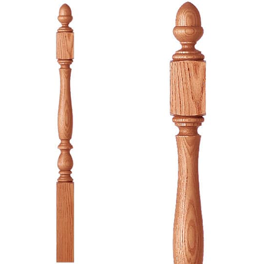 Bristol Shortest Utility Newel