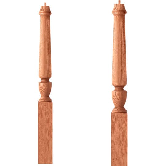 Intermediate Landing Newel