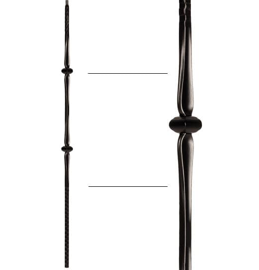 """Double Knuckle Baluster - 9/16"""" X 44"""""""