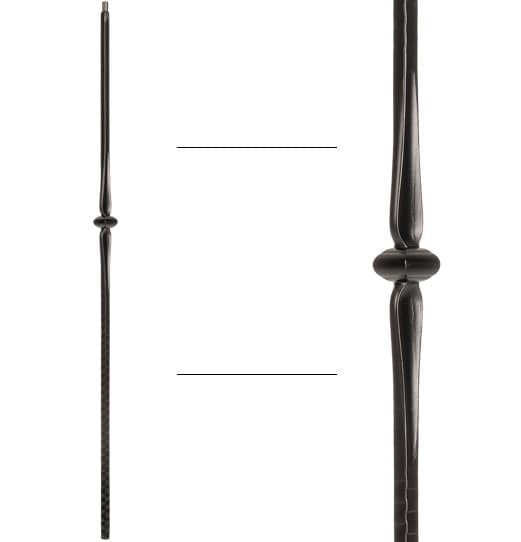 """Single Knuckle with Spoons Baluster - 9/16"""" X 44"""""""