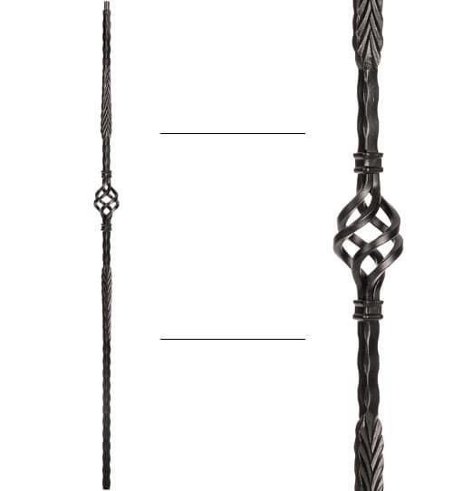 """Split Arrows Baluster - 9/16"""" X 44"""""""