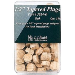 "1/2"" Tapered Plugs"