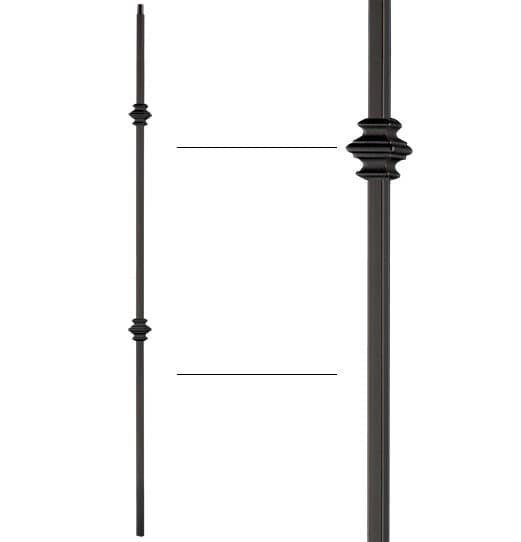 """Double Knuckle Baluster - 1/2"""" X 44"""""""