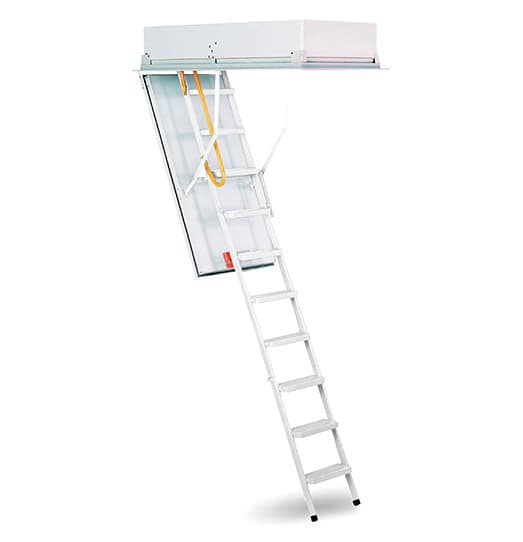 ProTech All Steel Attic Ladder - 8' to 10' Tall