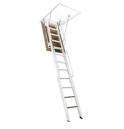 """F-9 Series Attic Ladder - 8' 2"""" - 9' 4"""" Tall"""