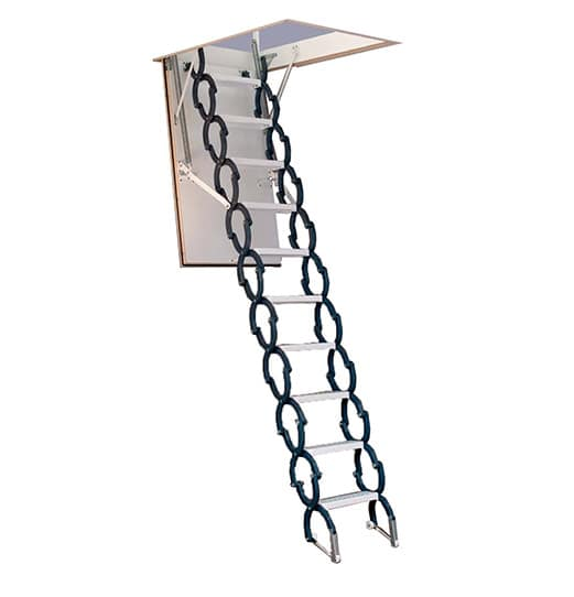 """Star Attic Ladder - 7' 4"""" - 8' 4"""" Tall"""
