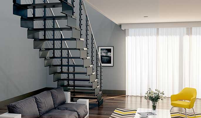 easy install modular staircase