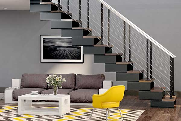 modern apartment modular staircase