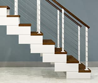 product options modular stair