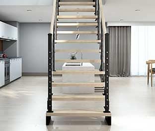 custom modular stair options