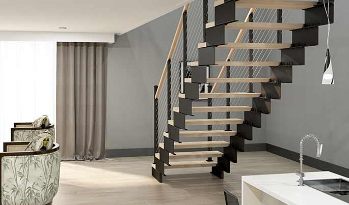 easy installation modular staircase