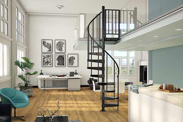 minimalist loft urban apartment